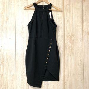 Entry women mini dress, Black Size L